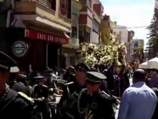Φωτογραφία για Μια διαφορετική Ανάσταση στην Ισπανία! [video]