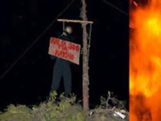 Φωτογραφία για KΡΗΤΗ : Mπαλωθιές, Κρεμάλα και Κάψιμο στους 300 της Βουλής [video]