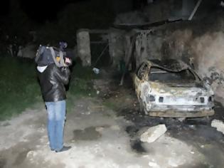 Φωτογραφία για Πυρπόλησαν αυτοκίνητα Βουλγάρων στους Κουνάβους Ηρακλείου μετά την συμπλοκή! [video]