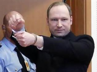 Φωτογραφία για Ανεστάλη η δίκη του Μπρειβεικ