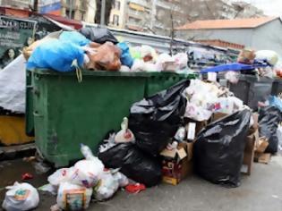 Φωτογραφία για Μαζεύονται τα σκουπίδια στη Θεσσαλονίκη