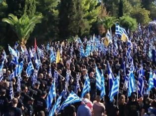 Φωτογραφία για Αποθεώθηκε η Χρυσή Αυγή στον Μελιγαλά από χιλιάδες Έλληνες πατριώτες και συγγενείς των θυμάτων [video]