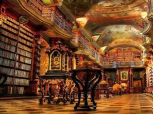 Φωτογραφία για Εκπληκτική βιβλιοθήκη-μουσείο στην Πράγα!