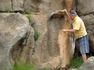 Φωτογραφία για Βρέθηκε γιγαντιαίο αποτύπωμα ποδιού 200 εκατ. ετών!