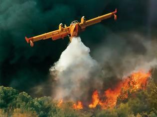 Φωτογραφία για Μεγάλη πυρκαγιά στο Μέγαρο Γρεβενών…