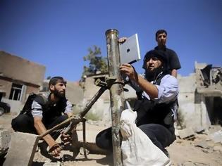 Φωτογραφία για Οι Σύροι αντάρτες χρησιμοποιούν iPad στις βολές!
