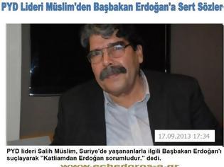Φωτογραφία για Ηγέτης Κούρδων Συρίας: Ο Ερντογάν υπεύθυνος της σφαγής στη χώρα