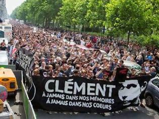 Φωτογραφία για Παρίσι: Συλλήψεις αντιφασιστών σε διαδήλωση στην μνήμη του δολοφονημένου Παύλου Φύσσα