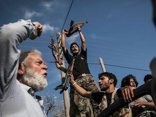 Φωτογραφία για Ξέσπασε και εμφύλιος μεταξύ των Σύρων ανταρτών
