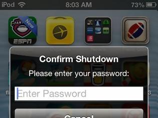 Φωτογραφία για Power Security: Cydia tweak new ($0.99)