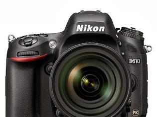 Φωτογραφία για Nikon D610 DSLR, 24 megapixel full frame CMOS στην καλύτερη D600 που είχες ποτέ