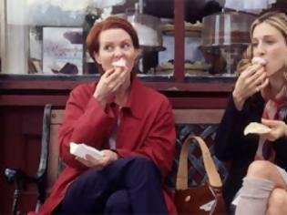Φωτογραφία για Sex and the...fat city: Αν τρώω όπως η Κάρι Μπράντσο, θα παχύνω;