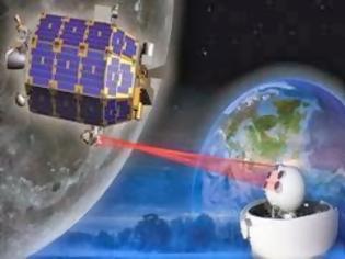 Φωτογραφία για Η NASA διακίνησε δεδομένα με Laser από και προς τη Σελήνη σε ταχύτητα 622 Mbps