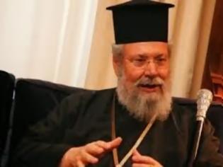 Φωτογραφία για Αρχιεπίσκοπος Χρυσόστομος: Η Ελληνική Τράπεζα να μείνει σε κυπριακά χέρια