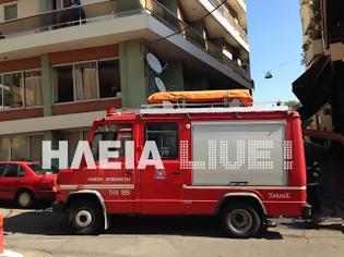 Φωτογραφία για Πύργος: Φωτιά σε διαμέρισμα την ώρα της παρέλασης