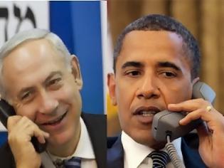 Φωτογραφία για «Τα είπαν» τηλεφωνικώς Ομπάμα-Νετανιάχου