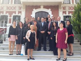 Φωτογραφία για Η κοινοβουλευτική ομάδα φιλίας Σουηδίας Ελλάδας στον περιφερειάρχη κ. Μακεδονίας Απ. Τζιτζικώστα