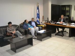 Φωτογραφία για Συνάντηση του Αντιπεριφερειάρχη Πέλλας με εκπροσώπους του Σωματείου Εργαζομένων του Νοσοκομείου Γιαννιτσών