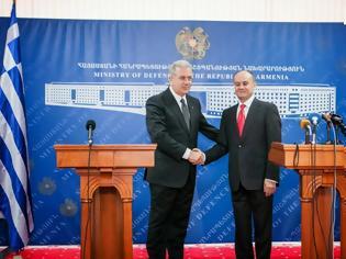 Φωτογραφία για Ολοκλήρωση επίσημης επίσκεψης ΥΕΘΑ Δημήτρη Αβραμόπουλου στην Αρμενία