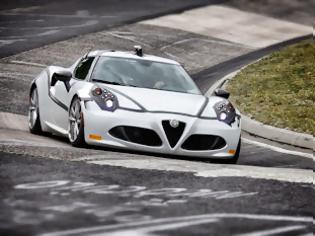 Φωτογραφία για Η Alfa Romeo 4C ολοκληρώνει την «πράσινη κόλαση» του Nürburgring σε μόλις 8'04''