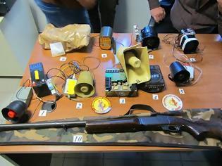 Φωτογραφία για Όργια λαθροθηρίας στην Κομοτηνή – κατασχέθηκαν 10 ηχομιμητικές συσκευές