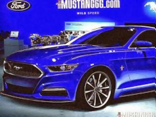 Φωτογραφία για Αποκάλυψη: Ερχεται η... ευρωπαϊκή Mustang