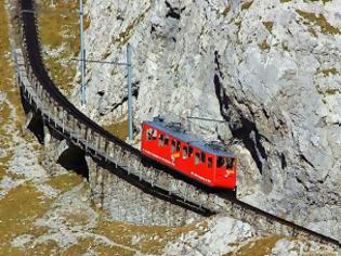Φωτογραφία για Η πιο απότομη σιδηροδρομική γραμμή στον κόσμο!