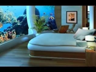 Φωτογραφία για Δωμάτια με θέα στον... βυθό! [Photos]