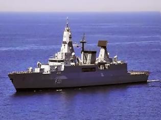 Φωτογραφία για Γερμανικά πολεμικά πλοία ανοικτά των Χανίων