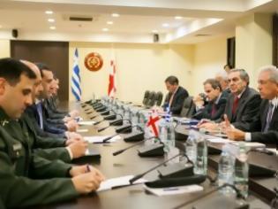 Φωτογραφία για Επίσκεψη υπουργού Εθνικής Άμυνας σε Γεωργία και Αρμενία