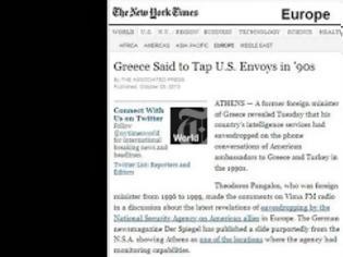 Φωτογραφία για New York Times: «To 'πε κι ο Πάγκαλος»