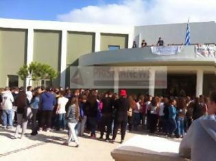 Φωτογραφία για Κατάληψη από μαθητές στο δημαρχείο Αρχανών