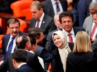 Φωτογραφία για Η μαντίλα μπήκε και επισήμως στην τουρκική βουλή