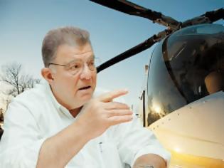 Φωτογραφία για Έκλεψε το ελικόπτερο αξίας 2,5 εκατ. ευρώ του Εμφιετζόγλου επειδή του χρωστούσε δεδολευμένα 20.000 ευρώ!