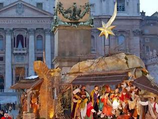 Φωτογραφία για Με μια τεράστια φάτνη γιορτάζει το Βατικανό