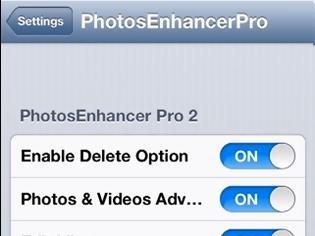 Φωτογραφία για PhotosEnhancer Pro 2: Cydia tweak free ....ένα εργαλείο για τις εικόνες σας