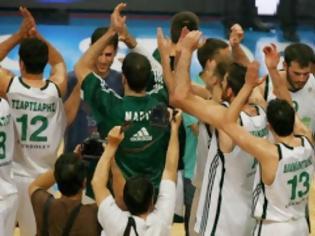 Φωτογραφία για Ευχές από τους παίκτες μπάσκετ του Παναθηναϊκού