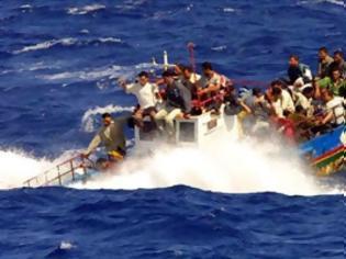 Φωτογραφία για Ρυμουλκήθηκε σκάφος με 94 μετανάστες στην Πύλο