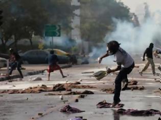 Φωτογραφία για Δακρυγόνα κατά διαδηλωτών στην Ταϊλάνδη