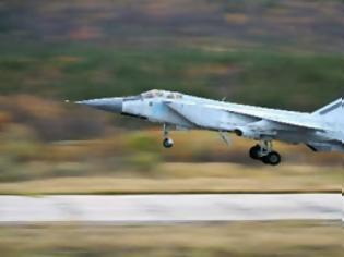 Φωτογραφία για Ρωσία: H Πολεμική Αεροπορία επαναρχίζει τις πτήσεις των MiG-31
