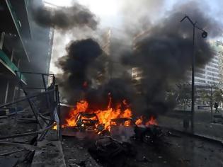 Φωτογραφία για Ισχυρή έκρηξη στη Βηρυτό - Νεκρός πρώην υπουργός