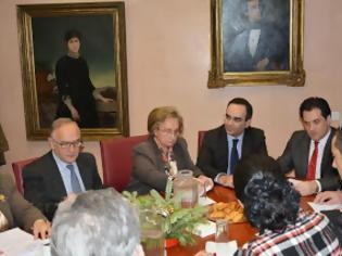 Φωτογραφία για Συνάντηση του Υπουργού Υγείας κ. Αδωνι Γεωργιάδη με το Δ.Σ. του Αγλαϊα Κυριακού