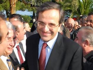 Φωτογραφία για «Καθαρή εντολή» διακυβέρνησης ζητά ο Αντ. Σαμαράς