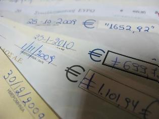 Φωτογραφία για Ακάλυπτες επιταγές: Άλμα στα 500 εκ. ευρώ το πρώτο τρίμηνο
