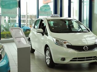 Φωτογραφία για To νέο Nissan NOTE Taxi κοντά στους επαγγελματίες αυτοκινητιστές της Βόρειας Ελλάδας