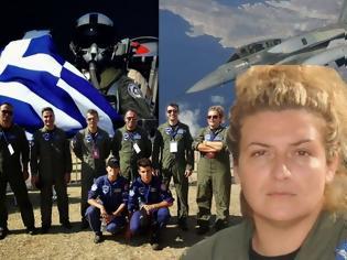 Φωτογραφία για Η πρώτη Ελληνίδα πιλότος μαχητικού [video]
