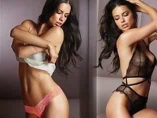 0247f6d3b9e Η σέξι Adriana Lima ποζάρει με τα εσώρουχα   NewsNowgr.com