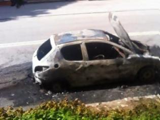 Φωτογραφία για Αυτοκίνητο στη Ελάτη Τρικάλων τυλίχτηκε στις φλόγες