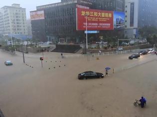 Φωτογραφία για Σοβαρές πλημμύρες πλήττουν την Κίνα [photos]
