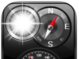 Φωτογραφία για Compass, Flashlight, Speedometer, Altimeter, Course:  AppStore free